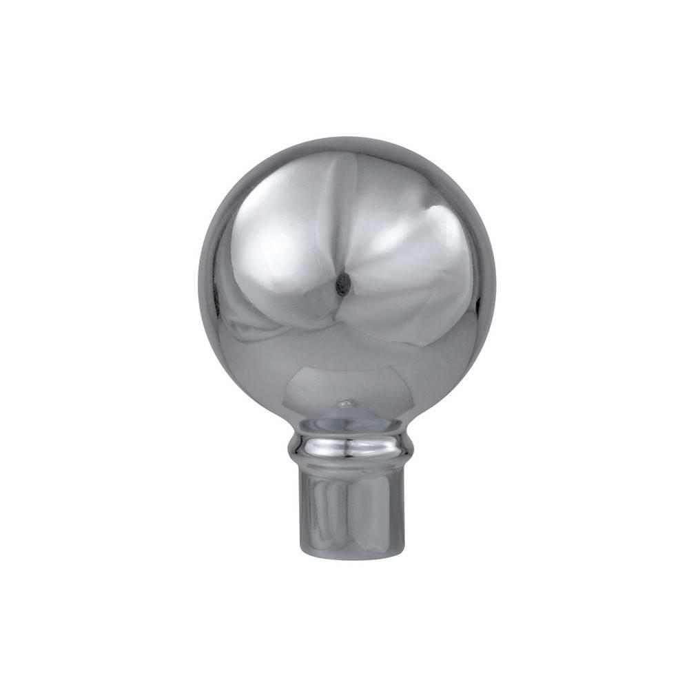 Parade Ball Ornament - Metal, Silver