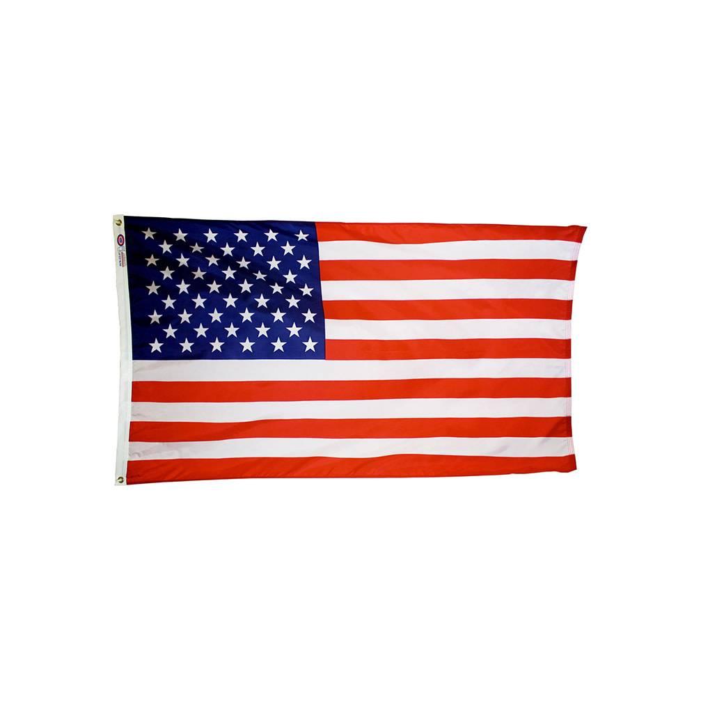 American Flag Printed on Nylon
