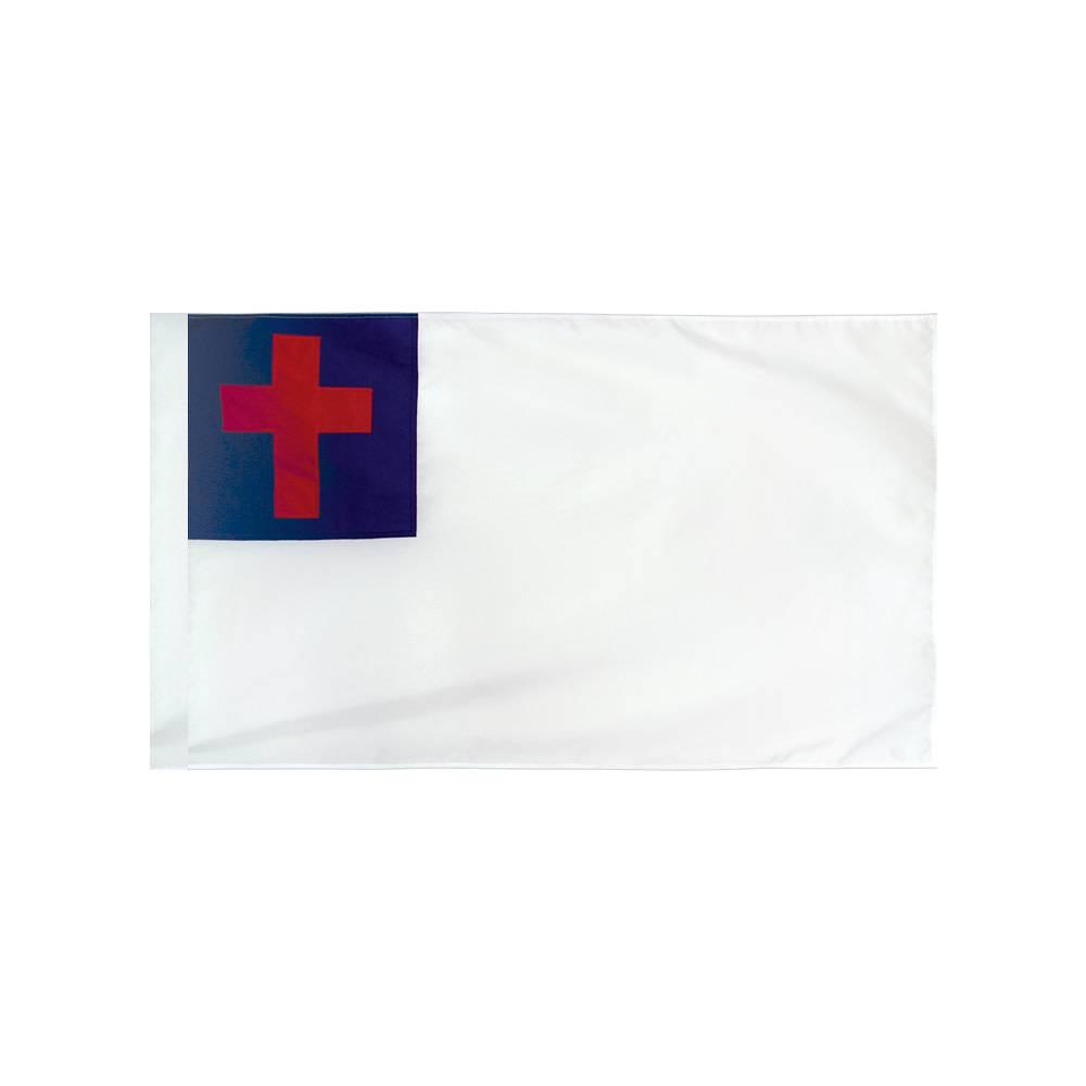 Christian Flag with Polesleeve