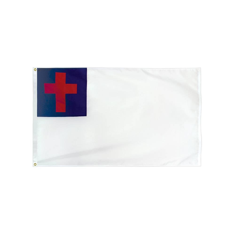 Sewn Christian Flag