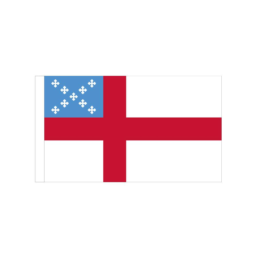 Episcopal Flag with Polesleeve