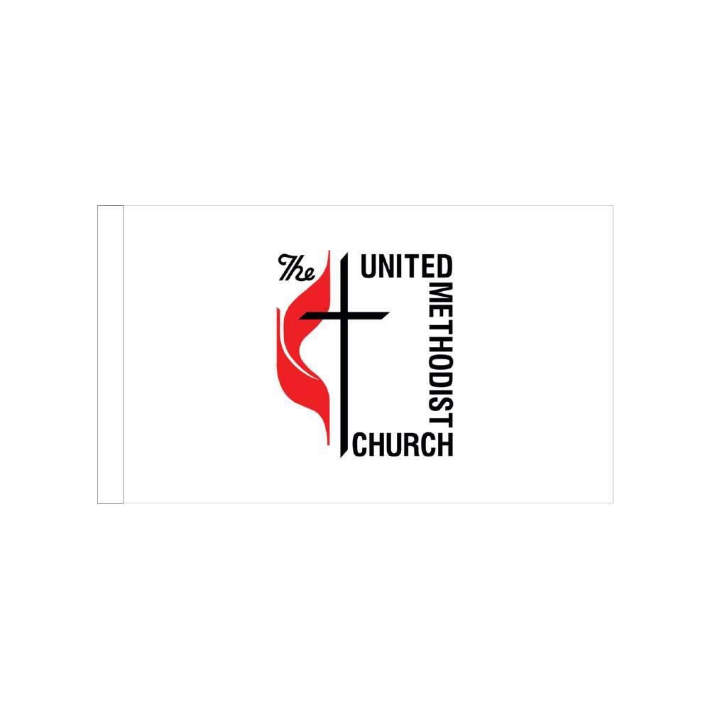 Methodist Flag with Polesleeve
