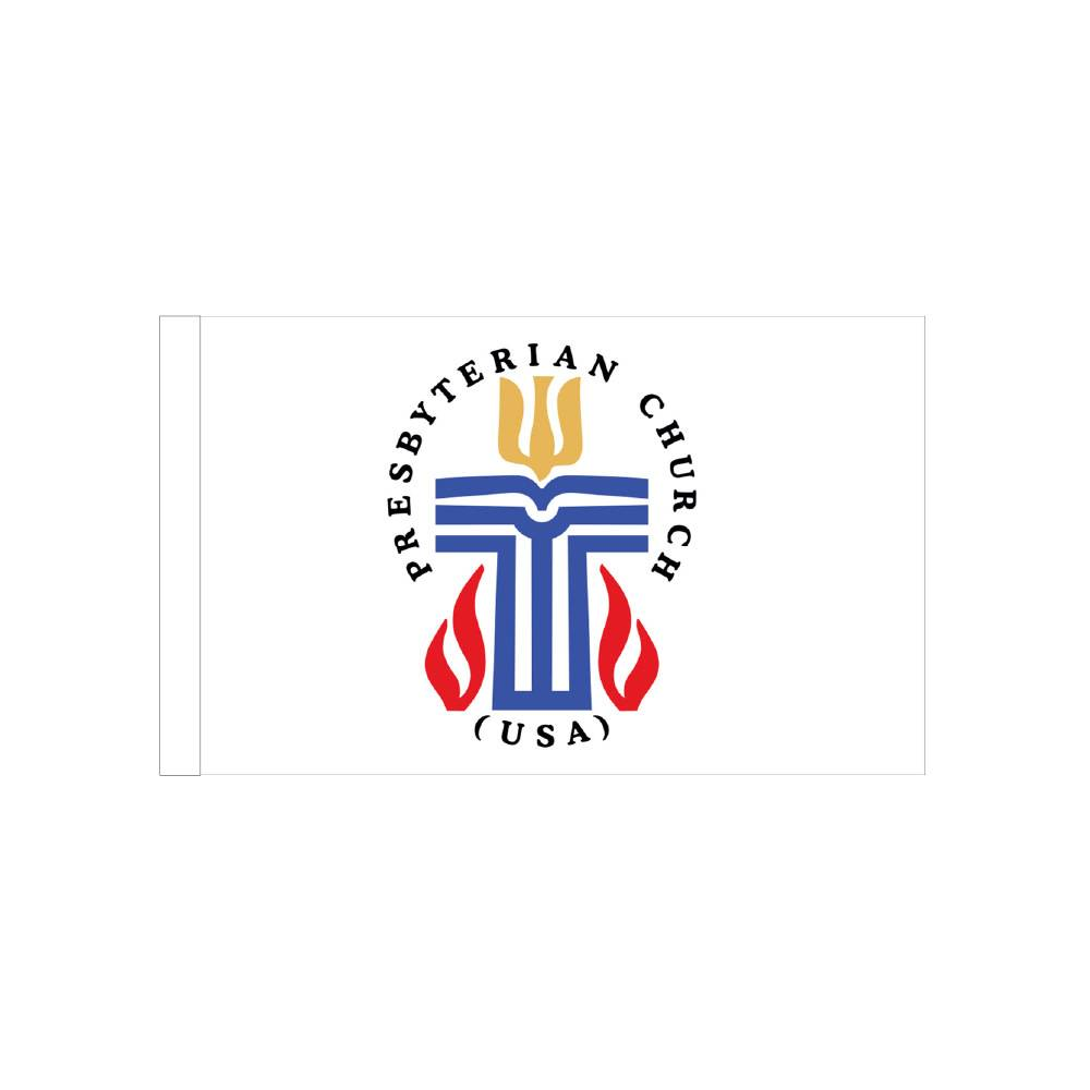 Presbyterian Flag with Polesleeve