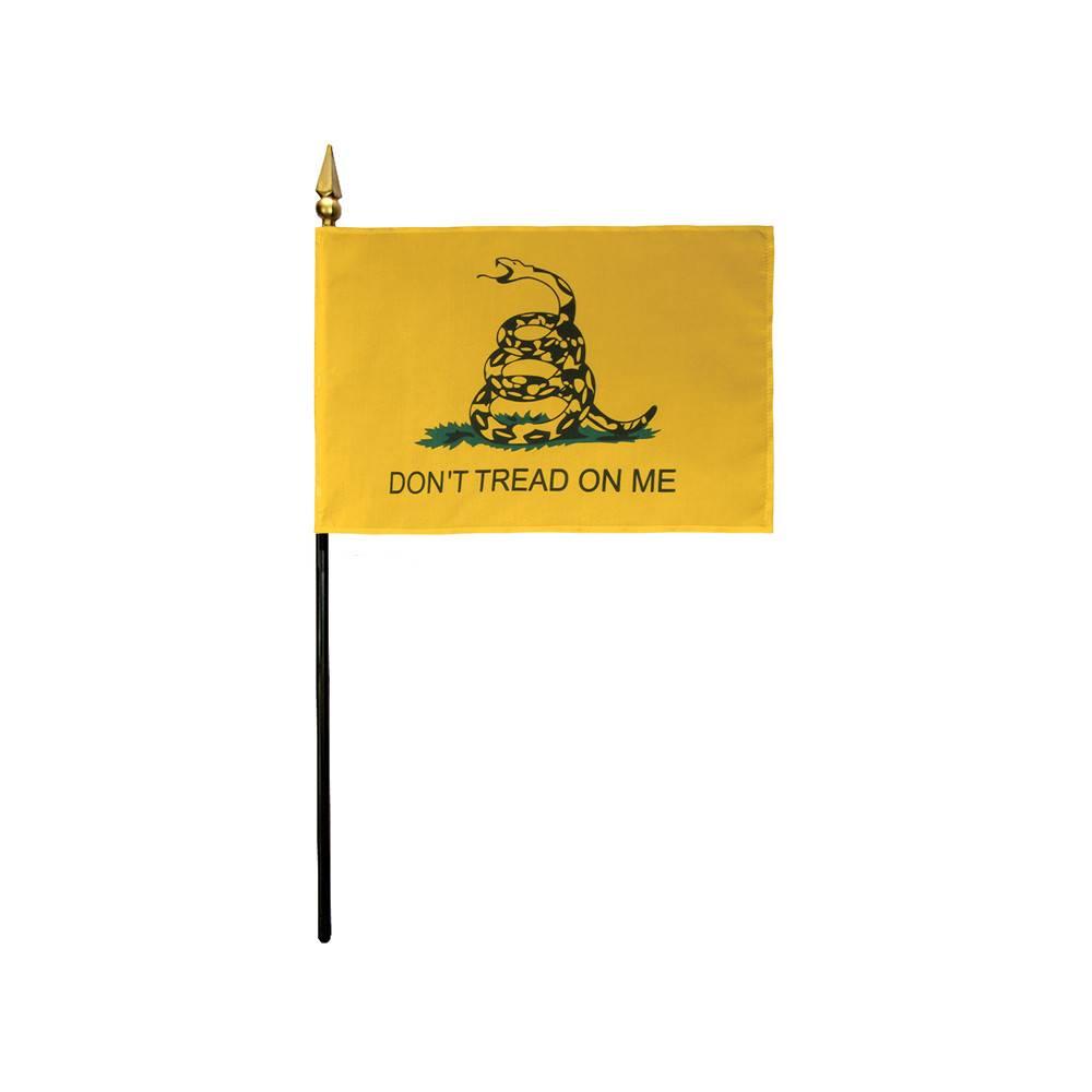 4x6 in Gadsden Stick Flag