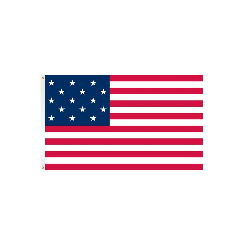 3x5 ft. 15-Star Fort McHenry Flag - Cotton