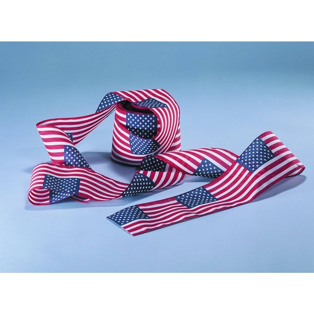 American Flag Bunting - 4x6 in Pattern
