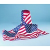 American Flag Bunting - 8x12 in Pattern