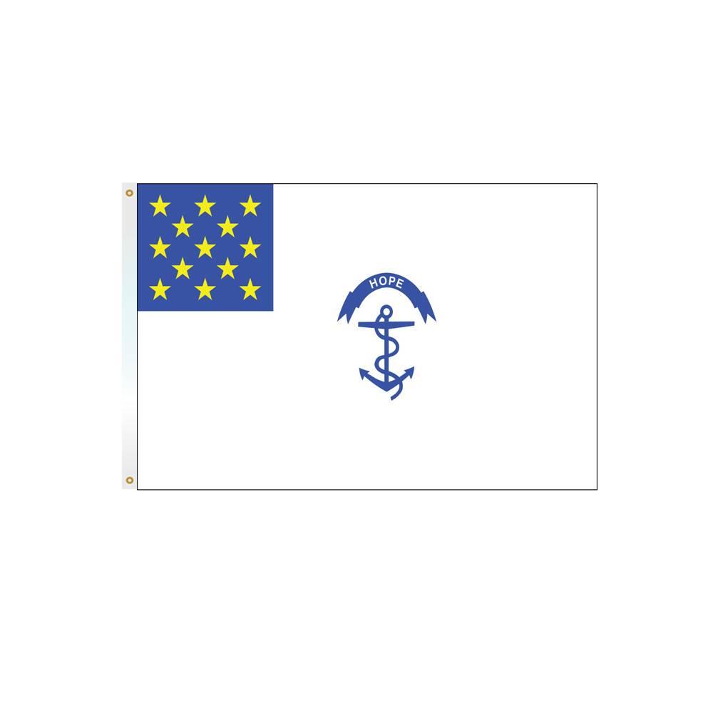 3x5 ft. Rhode Island Regiment Flag