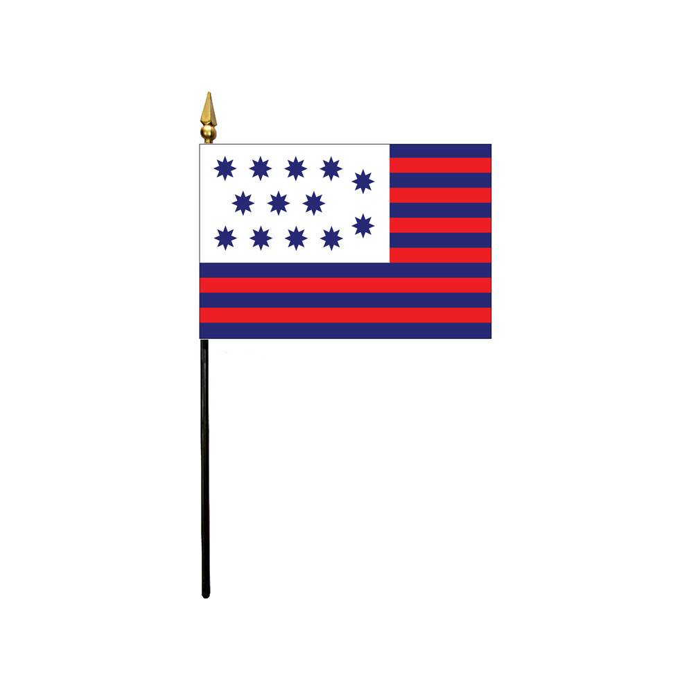 4x6 in Guilford Courthouse Stick Flag