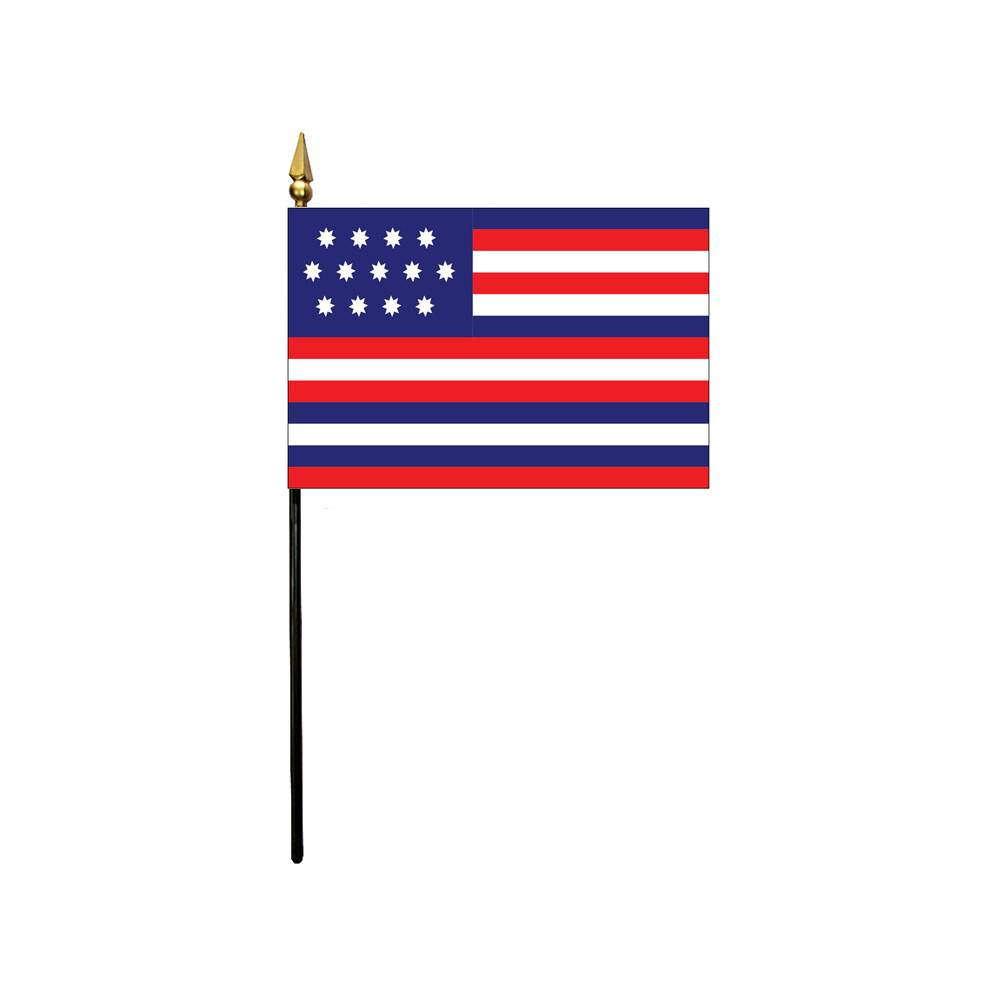 4x6 in. Serapis Stick Flag