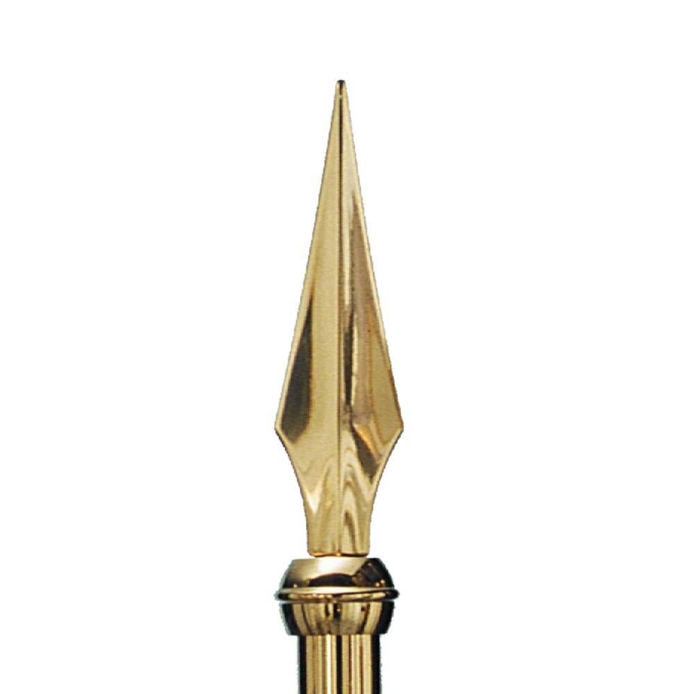 Staff Spear - Metal, Gold