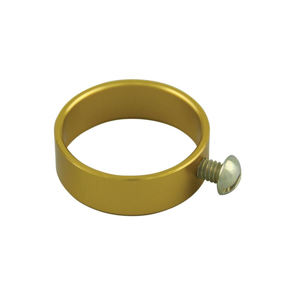 Aluminum Flagpole Ring - Gold
