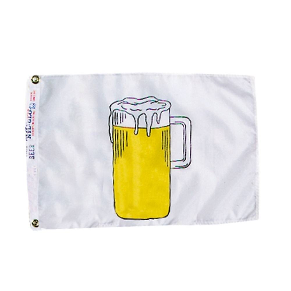 12x18 in. Beer Nautical Flag