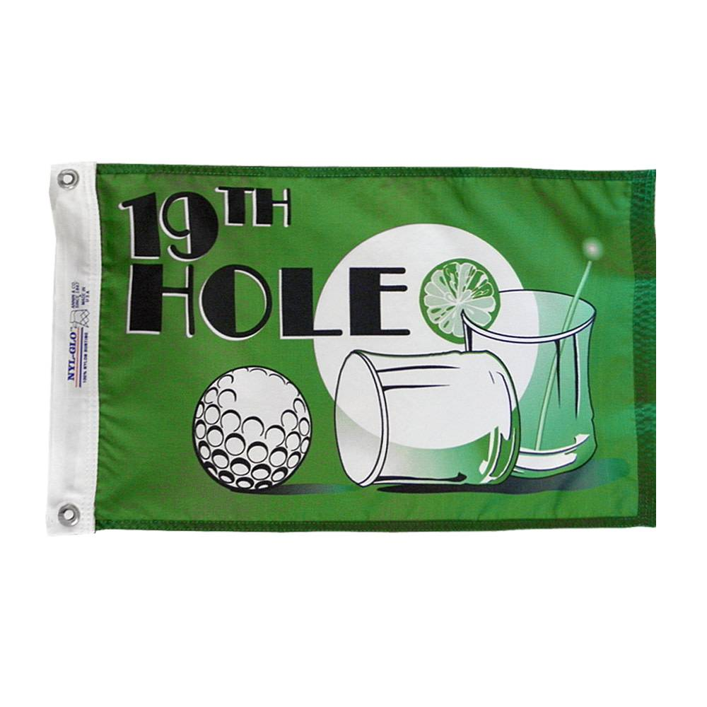 19th Hole Nautical Flag