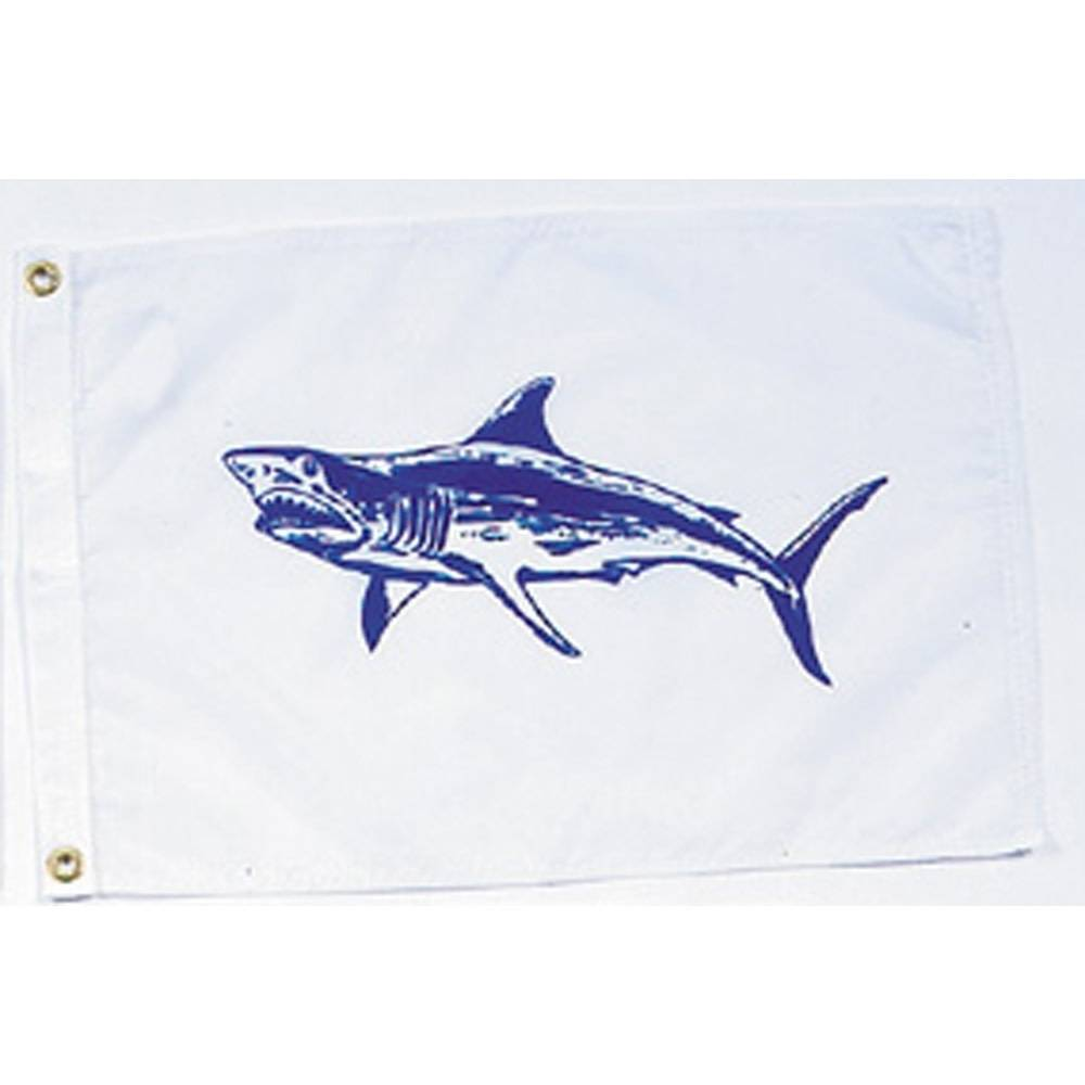 12x18 in. Mako Shark Nautical Flag