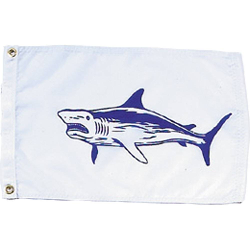 12x18 in. Shark Nautical Flag