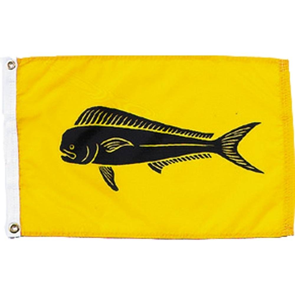 12x18 in. Dolphin Nautical Flag