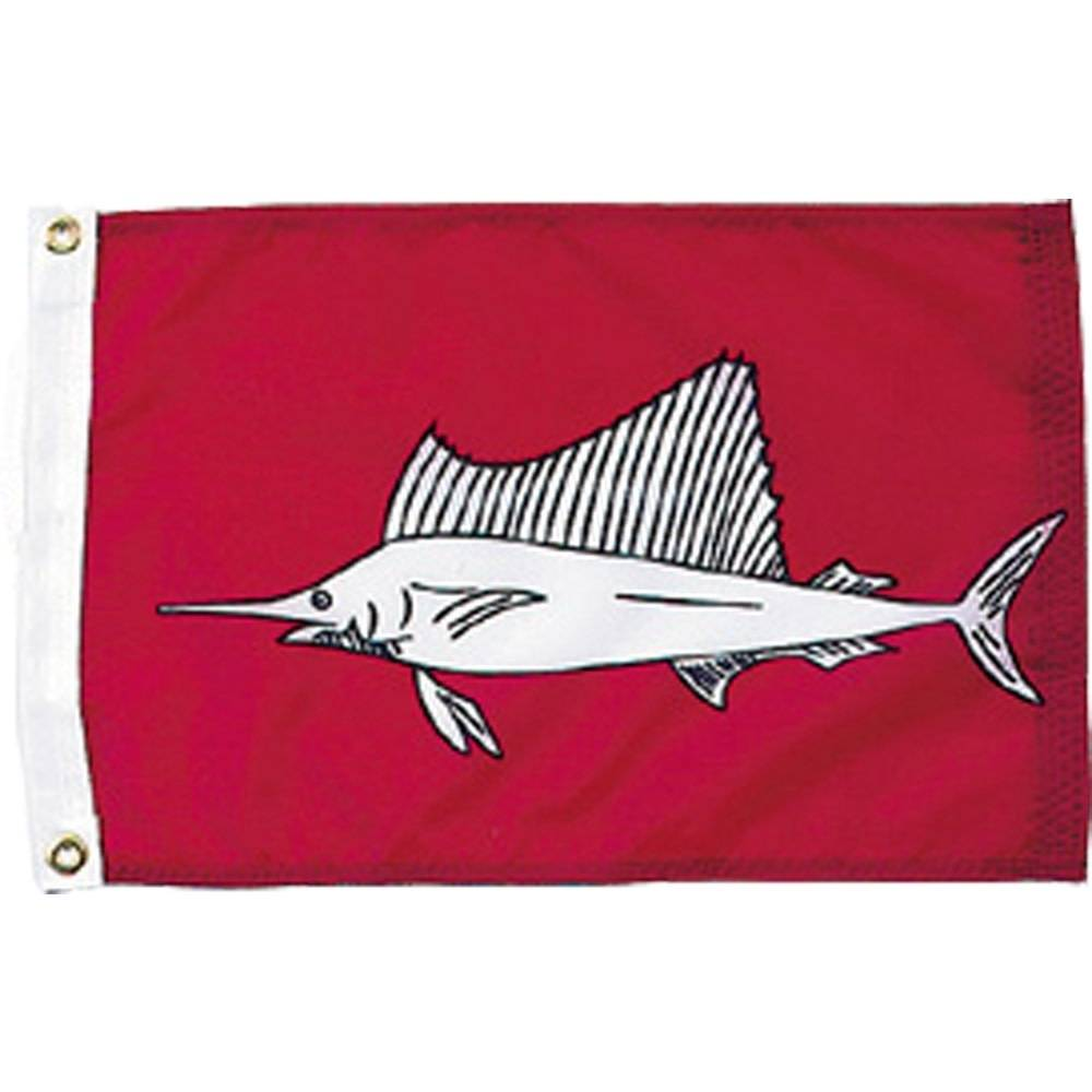12x18 in. Sailfish Nautical Flag