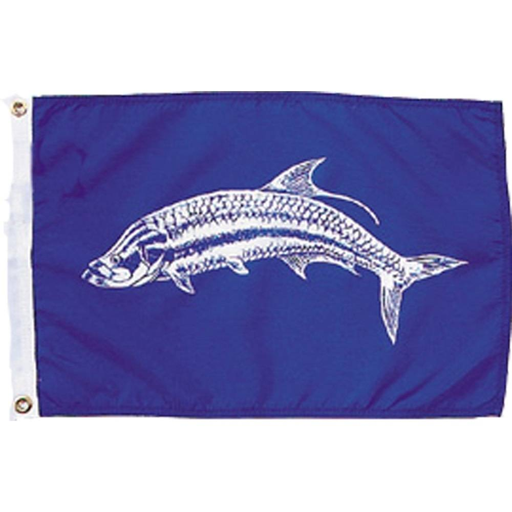 12x18 in. Tarpon Nautical Flag