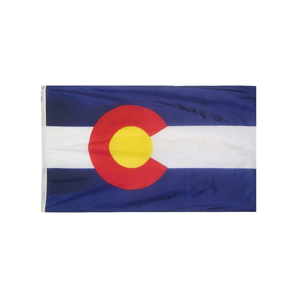 12x18 in. Colorado Nautical Flag