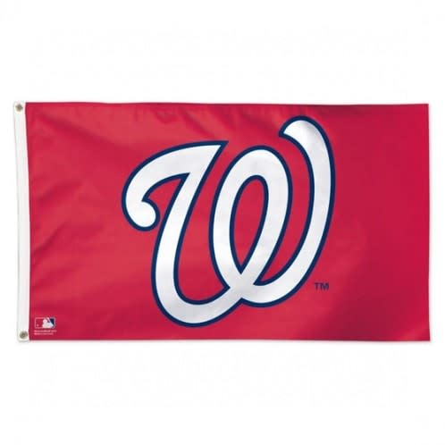 3x5 ft. Red Washington Nationals Flag