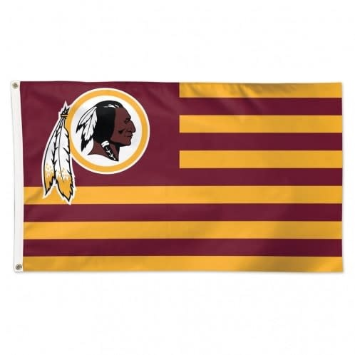 Washington Redskins American Flag