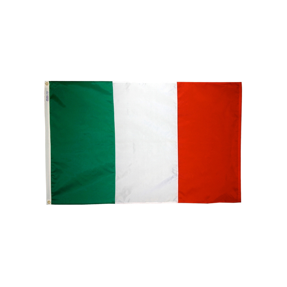12x18 in. Italy Nautical Flag