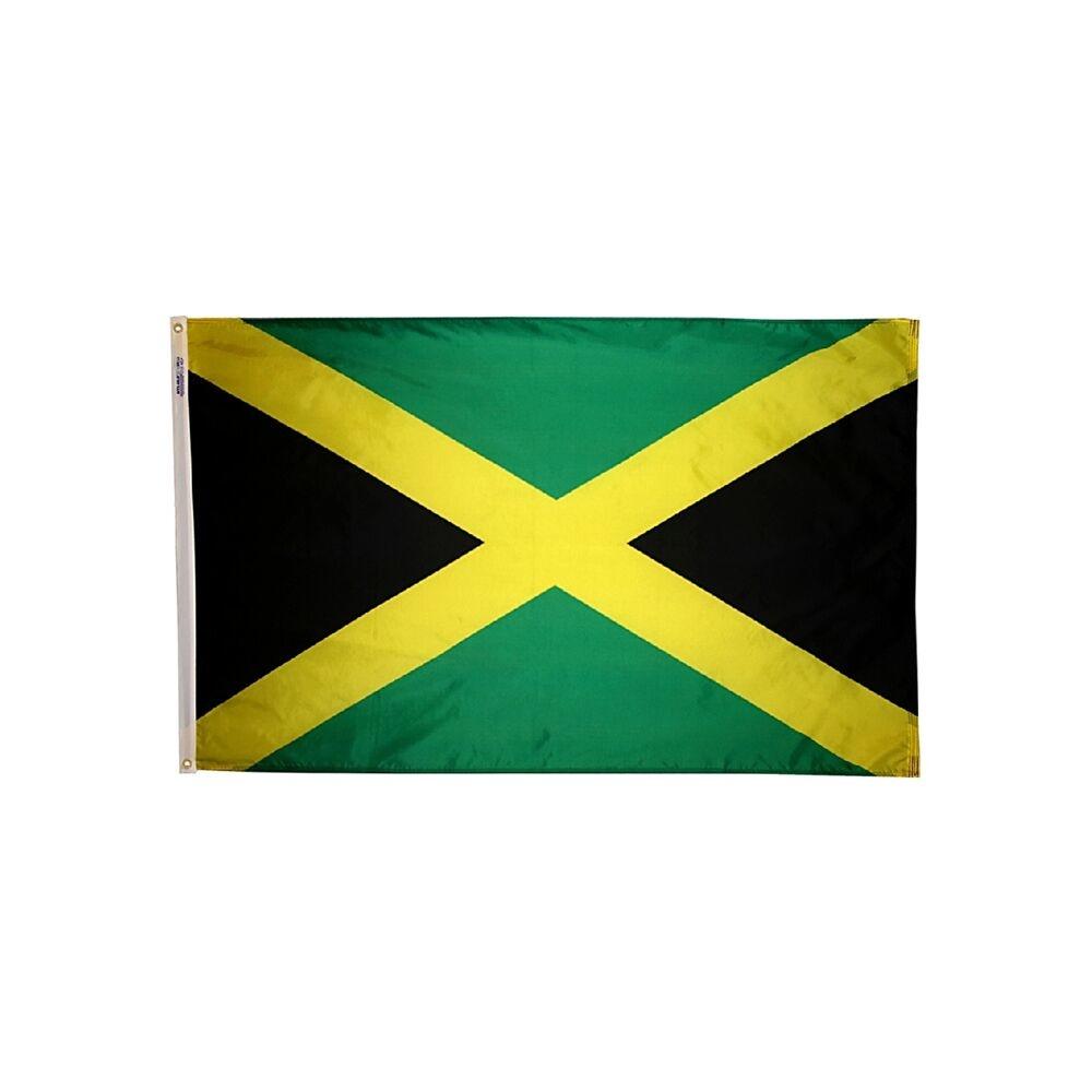 12x18 in. Jamaica Nautical Flag