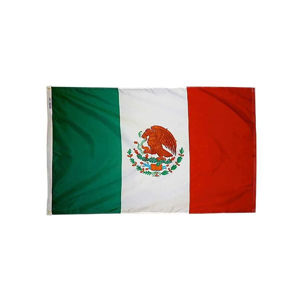 12x18 in. Mexico Nautical Flag
