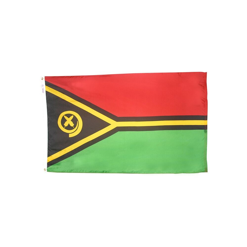 12x18 in. Vanuatu Nautical Flag
