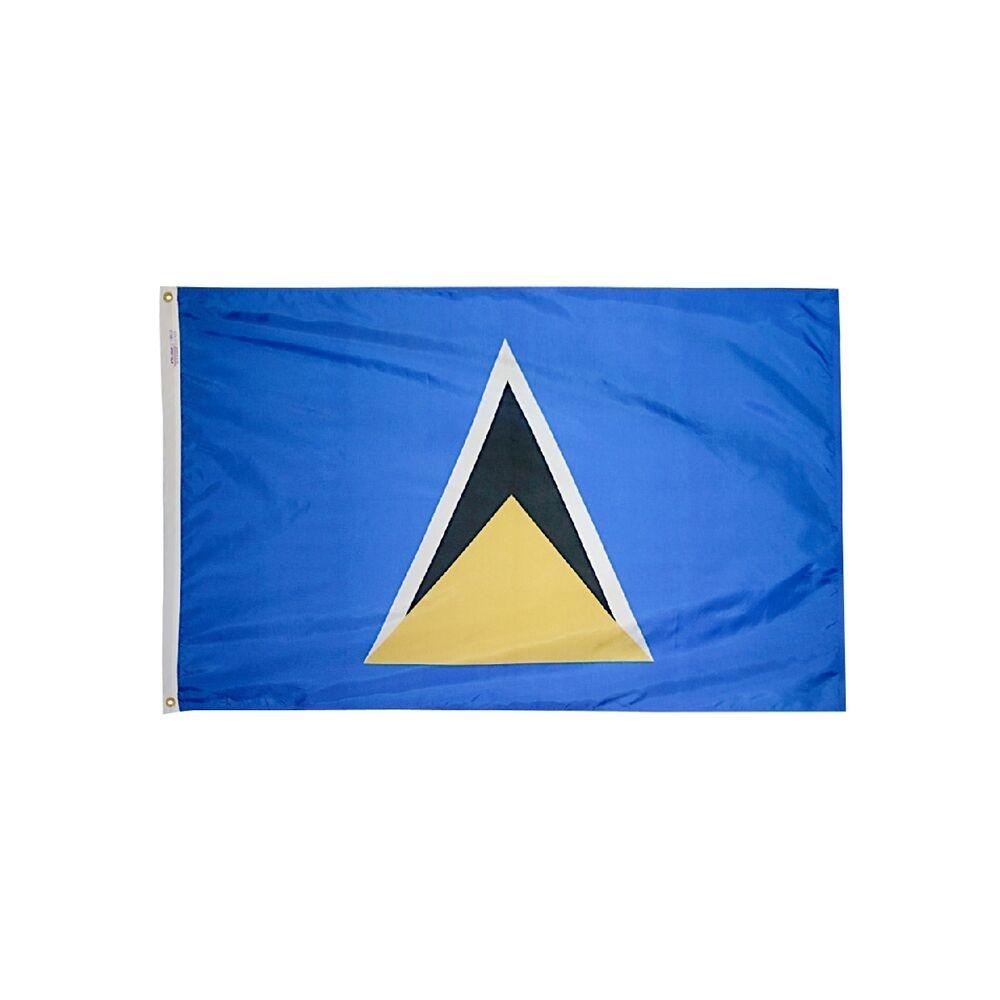 12x18 in. Saint Lucia Nautical Flag