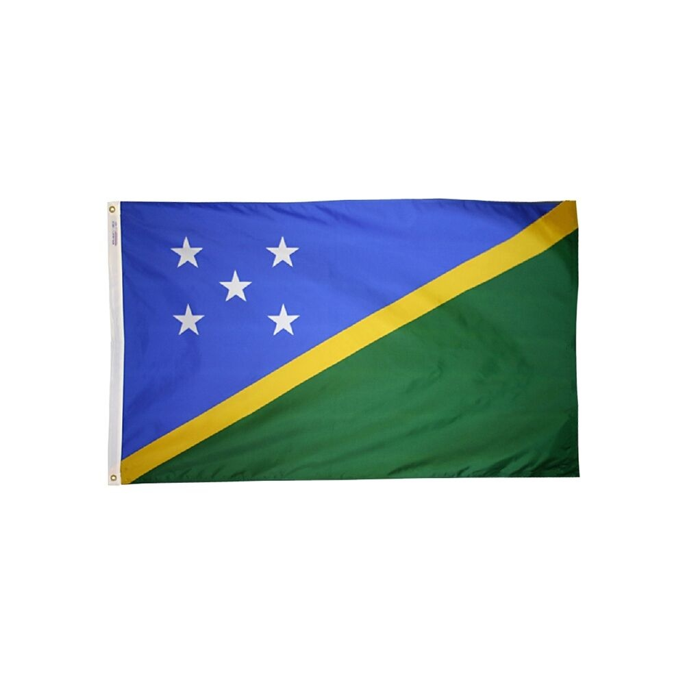 12x18 in. Solomon Island Nautical Flag