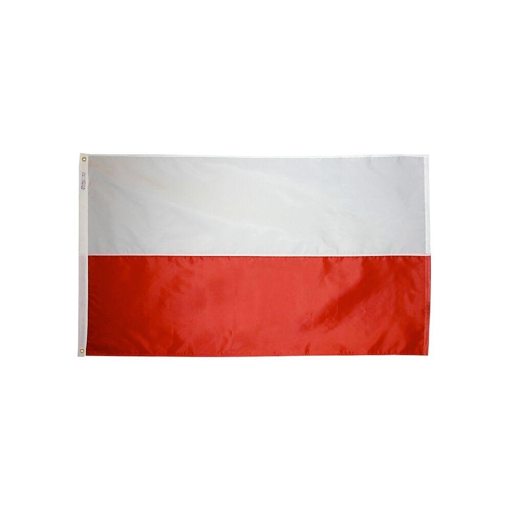 12x18 in. Poland Nautical Flag