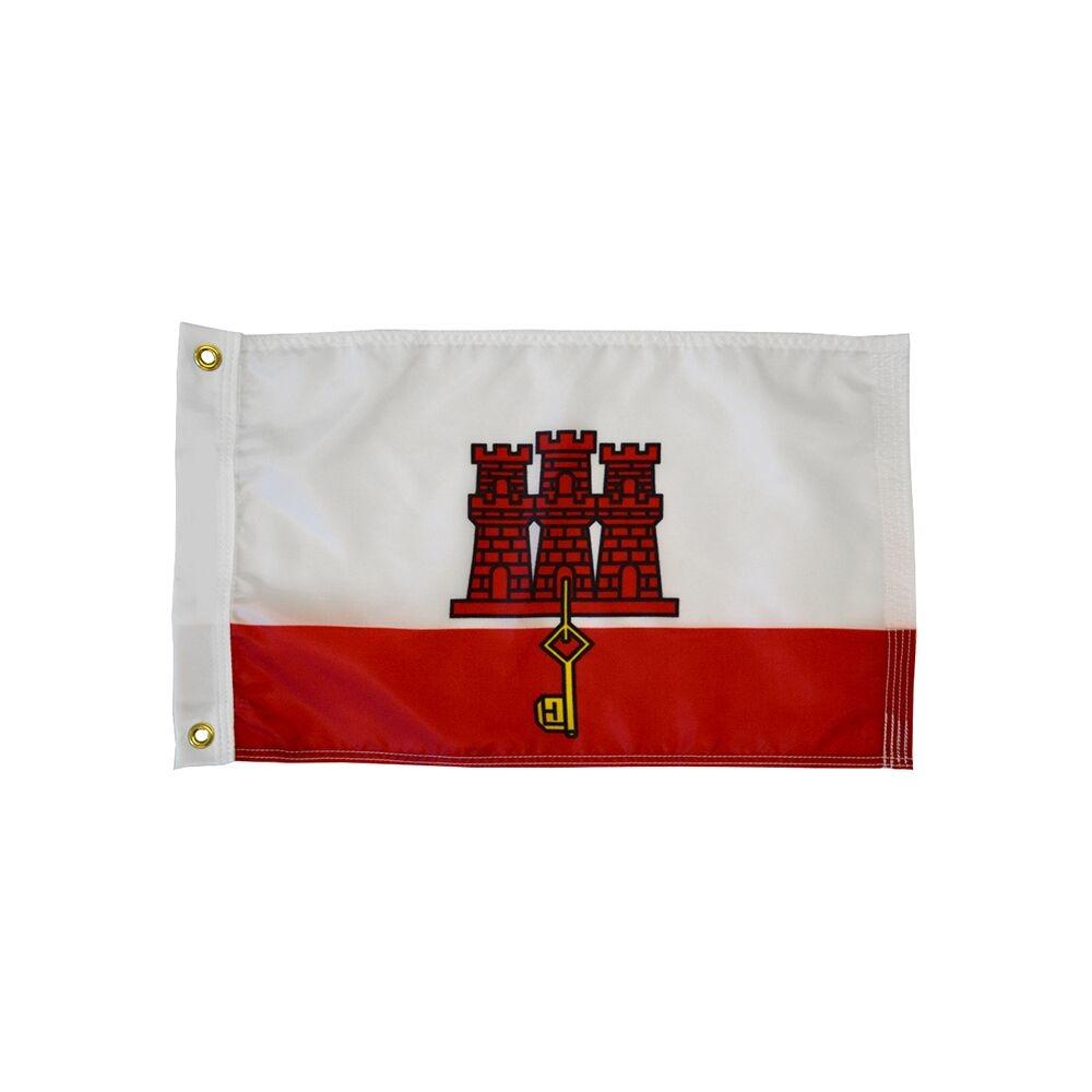 12x18 in. Gibraltar Nautical Flag