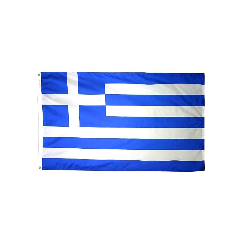 12x18 in. Greece Nautical Flag