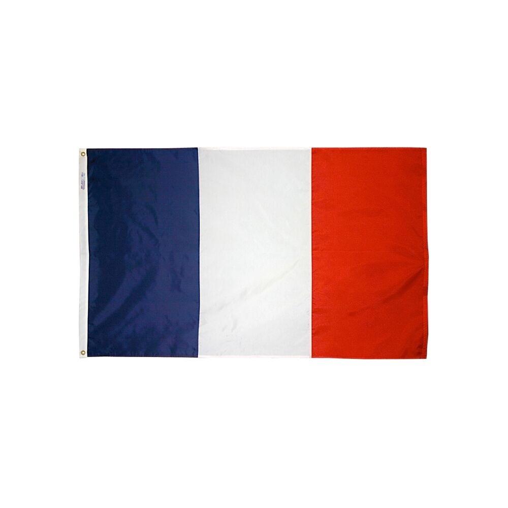 12x18 in. France Nautical Flag