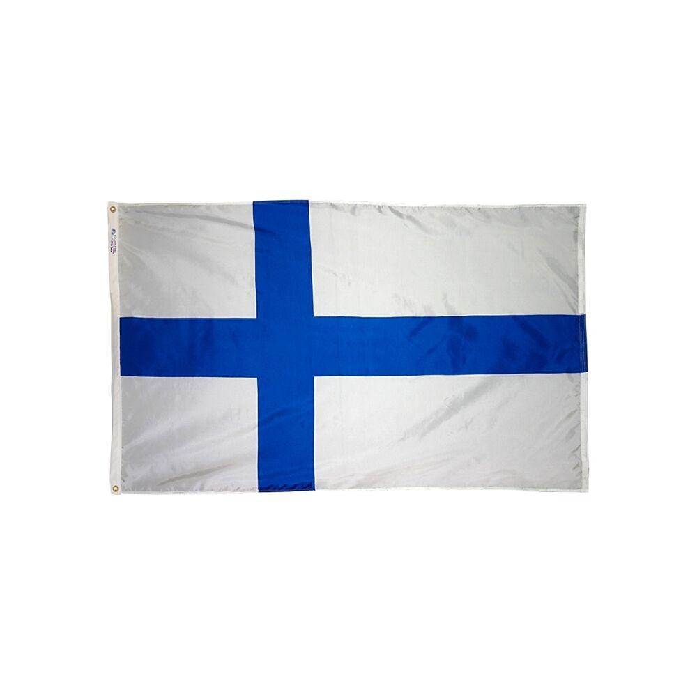12x18 in. Finland Nautical Flag