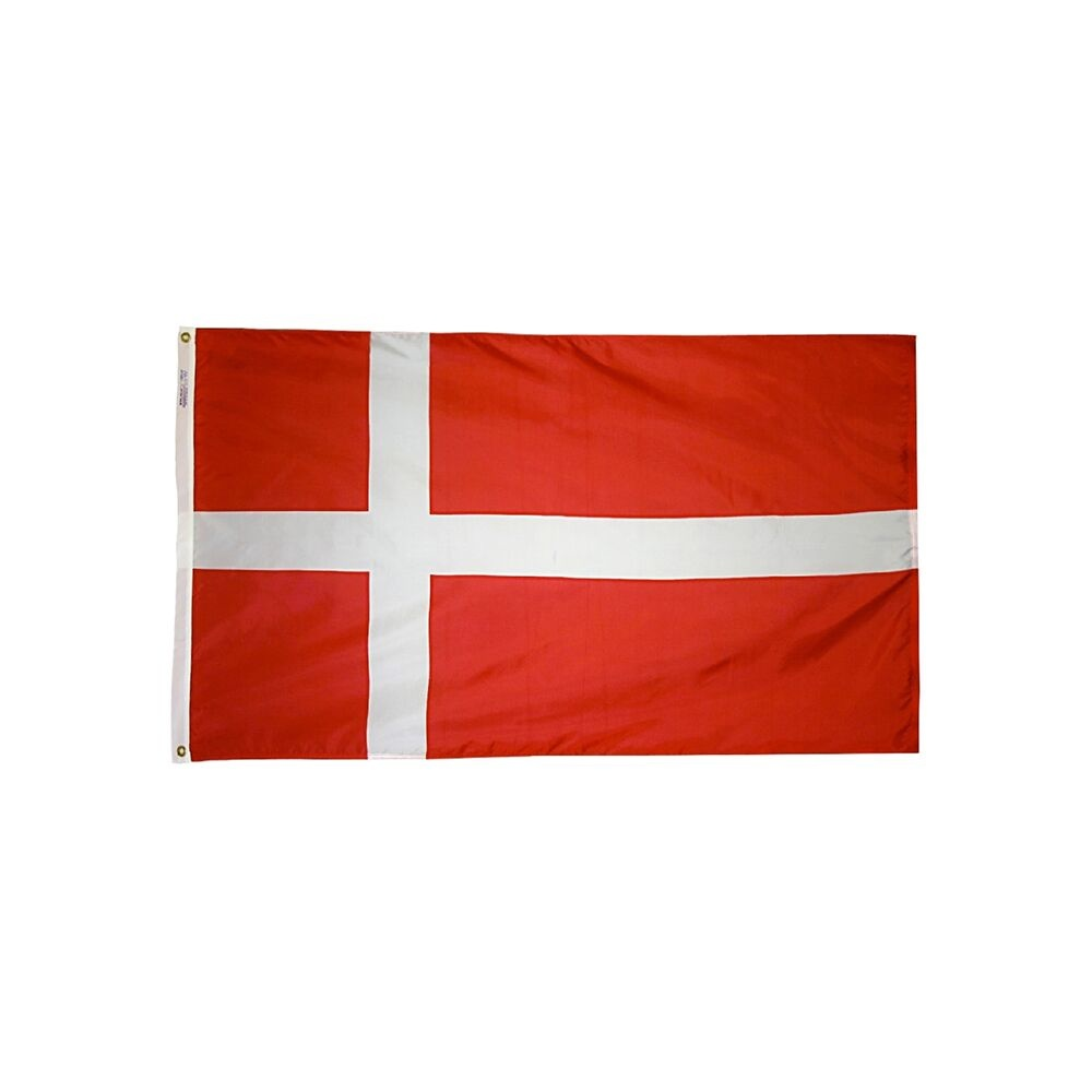 12x18 in. Denmark Nautical Flag