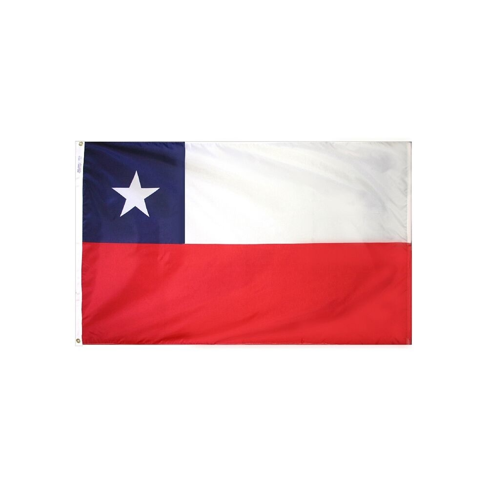 12x18 in. Chile Nautical Flag