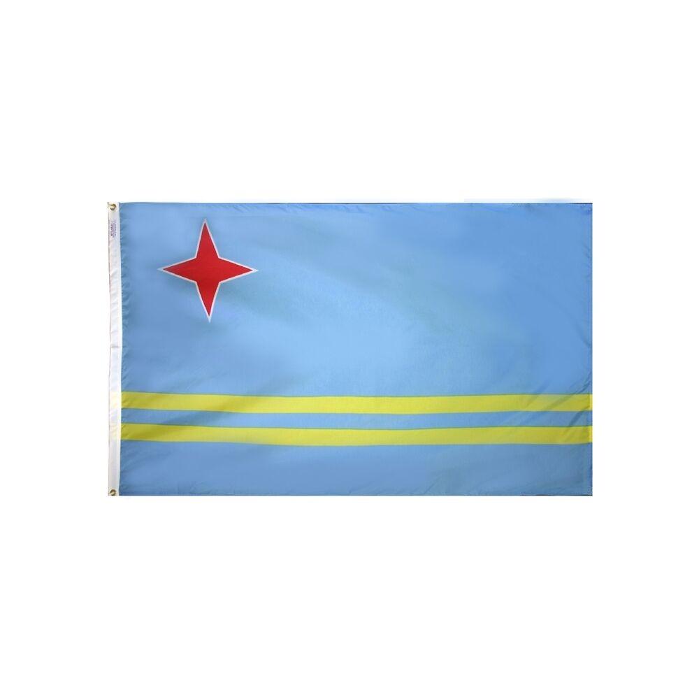 12x18 in. Aruba Nautical Flag