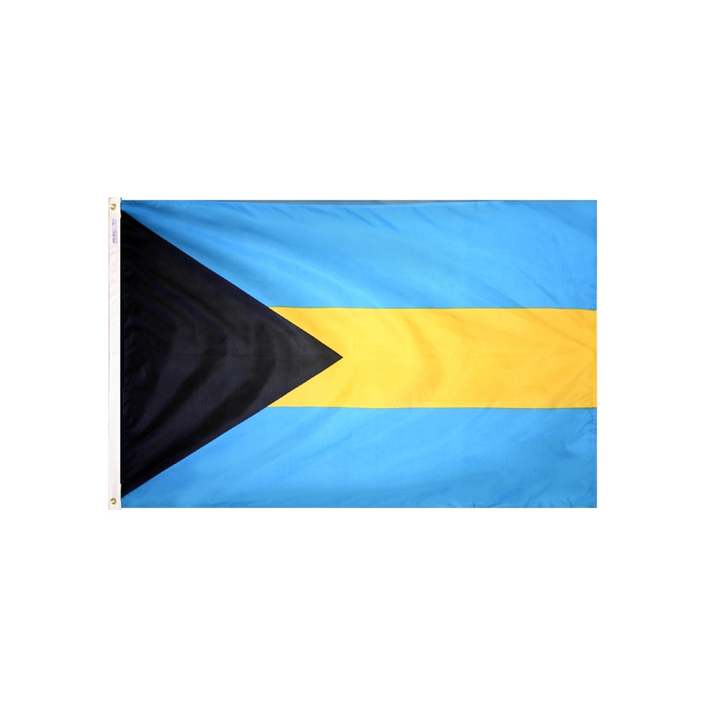12x18 in. Bahamas Nautical Flag