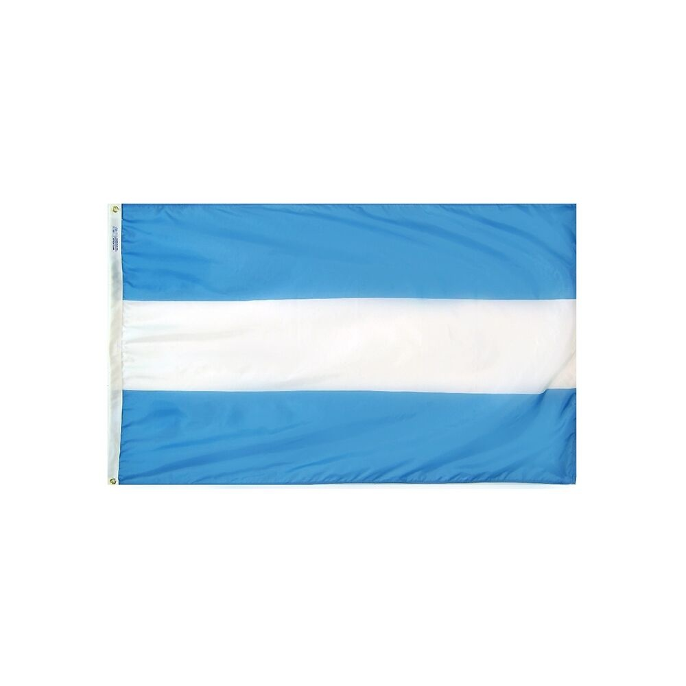 12x18 in. Argentina Nautical Flag - No Seal
