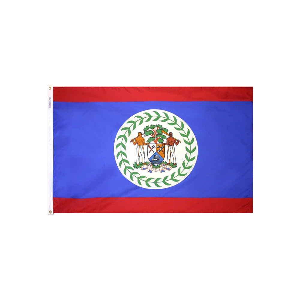 12x18 in. Belize Nautical Flag