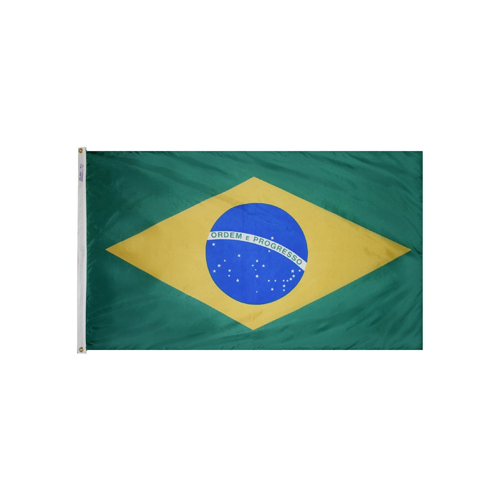 12x18 in. Brazil Nautical Flag