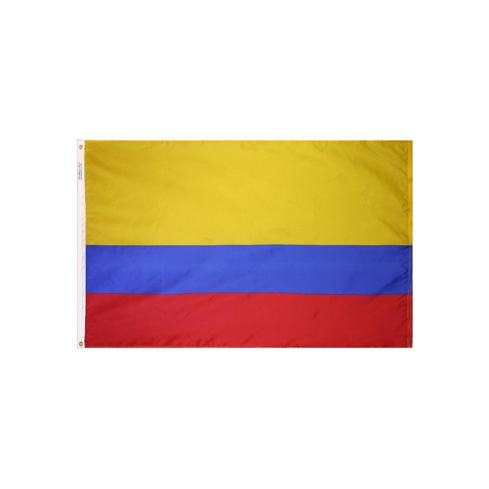 12x18 in. Colombia Nautical Flag