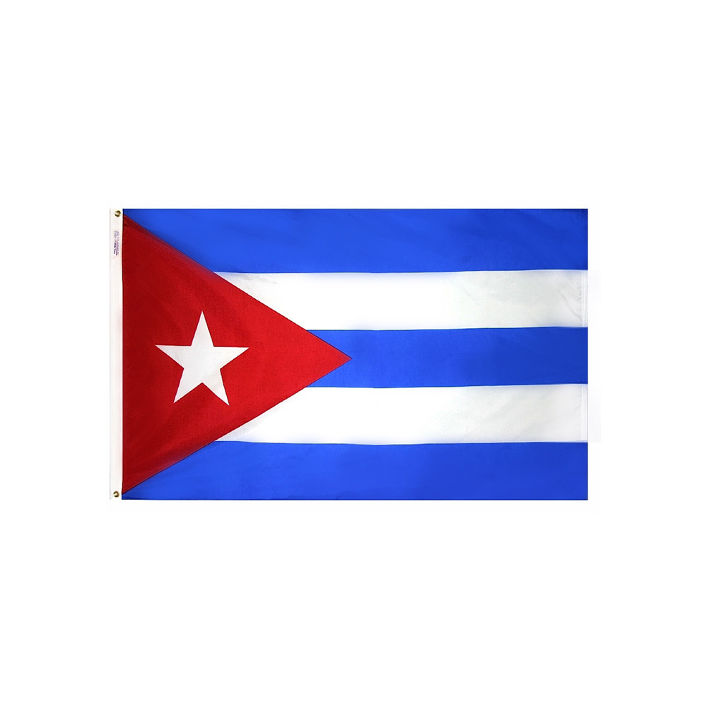 12x18 in. Cuba Nautical Flag