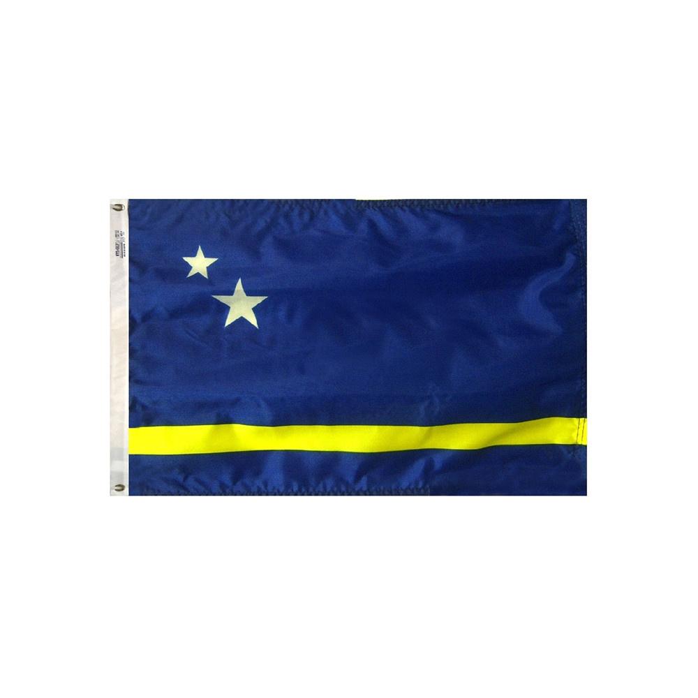 12x18 in. Curacao Nautical Flag