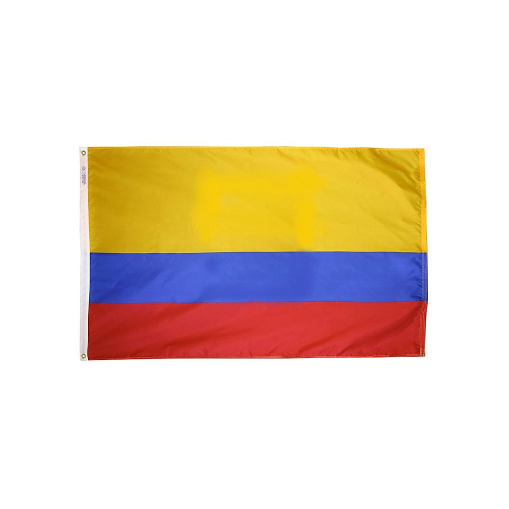 12x18 in. Ecuador Nautical Flag - No Seal