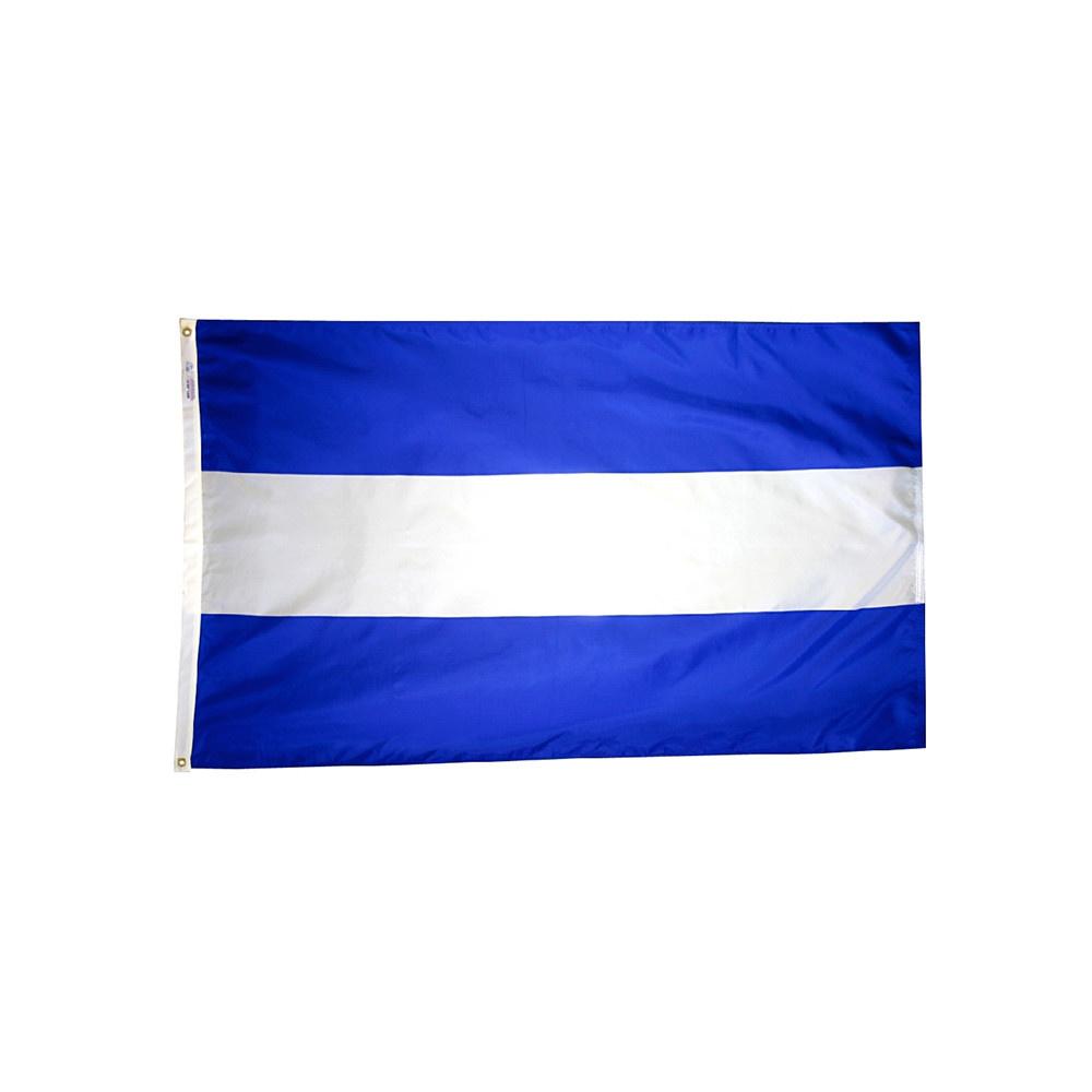 12x18 in. El Salvador Nautical Flag - No Seal