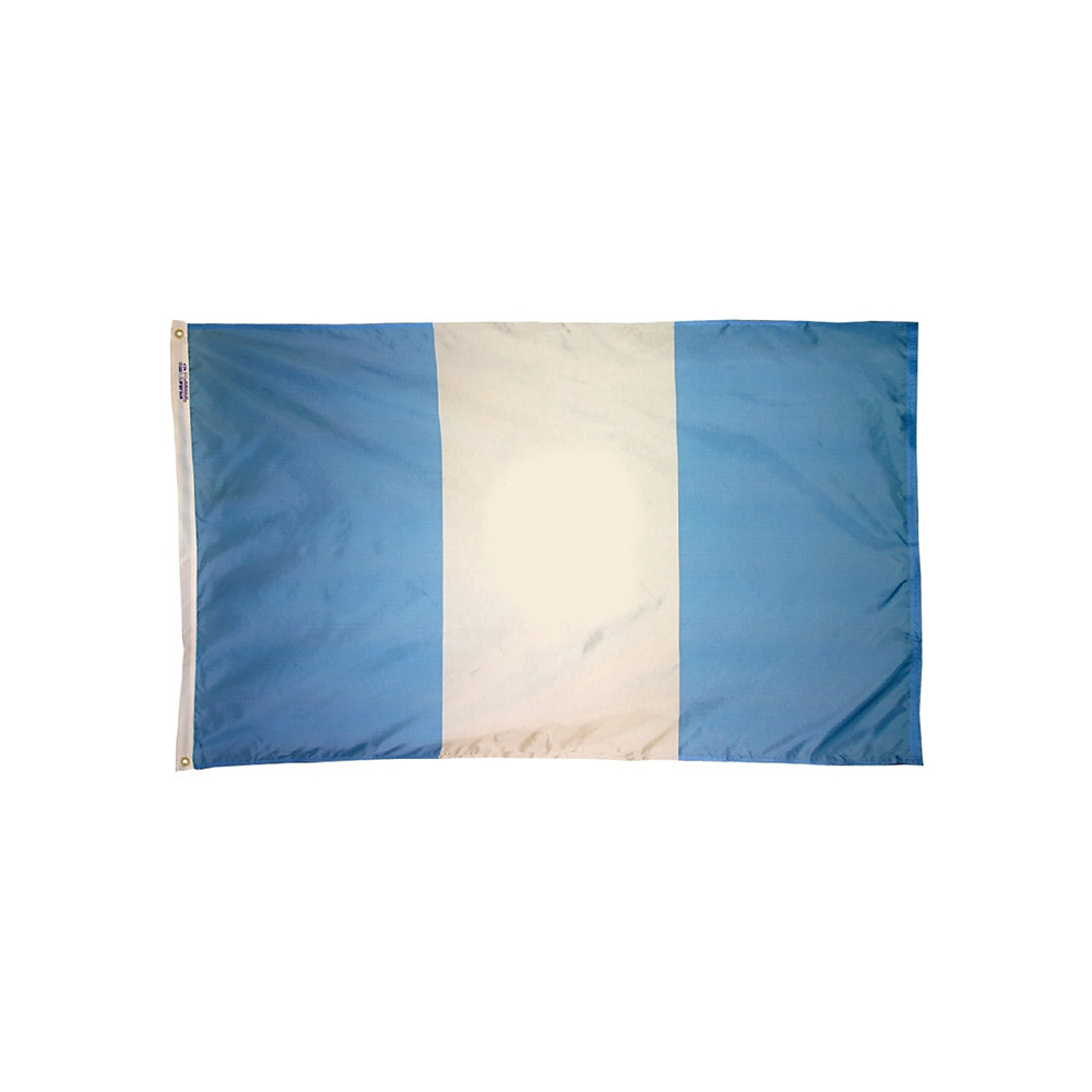 12x18 in. Guatemala Nautical Flag - No Seal
